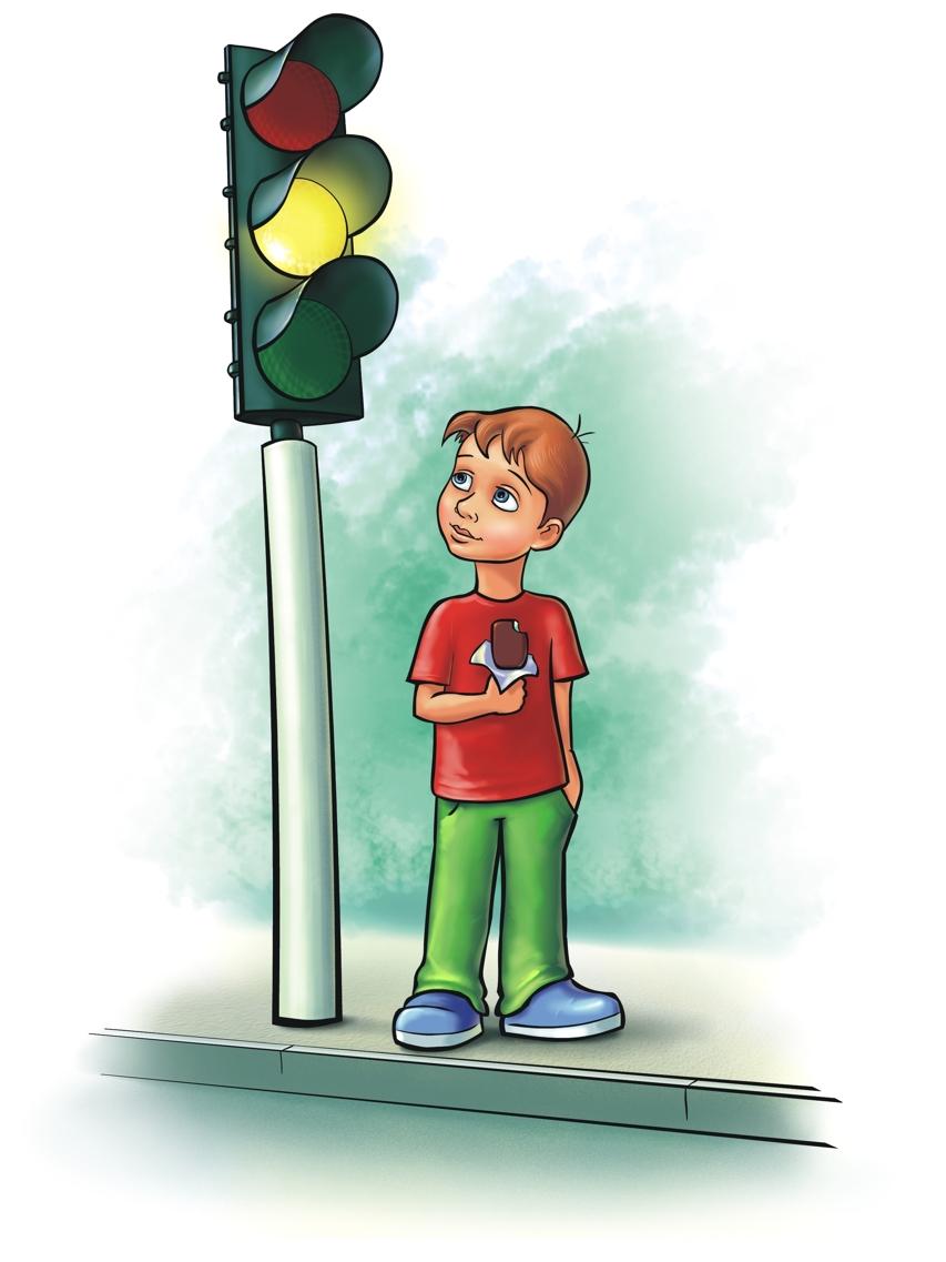 Светофор на улице картинки для детей